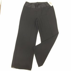 NYGARD Collection Sheer Lined Black Pants